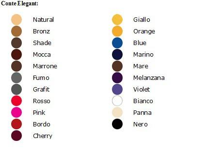 Conte tabela kolorów